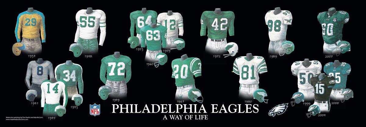 Nice Eagles Nest   Vintage Philadelphia Eagles Games on DVD